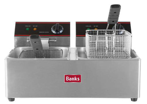 Banks EFD6 Twin Tank Fryer
