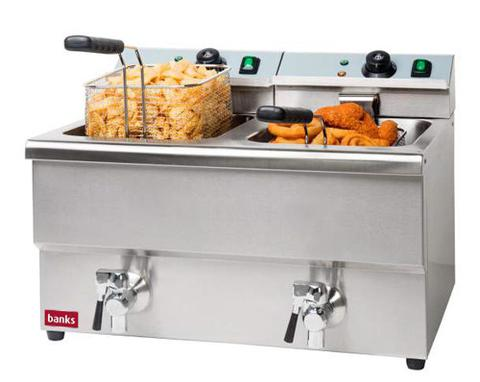 Banks EFD8 Twin Tank Fryer