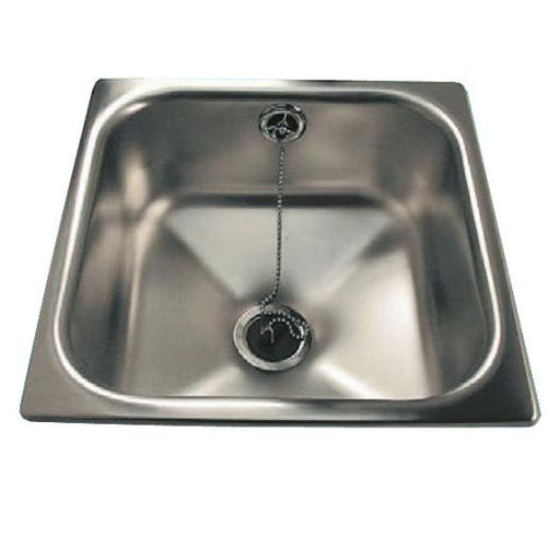 Classic Compact Inset Stainless Steel Hand Basin