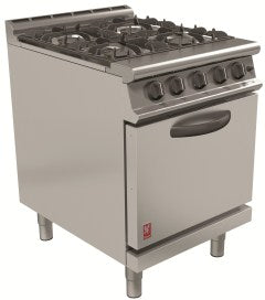 Falcon G3161D Four Burner Open Top Oven range