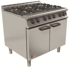 Falcon G3101 Six burner Open Top Oven Range