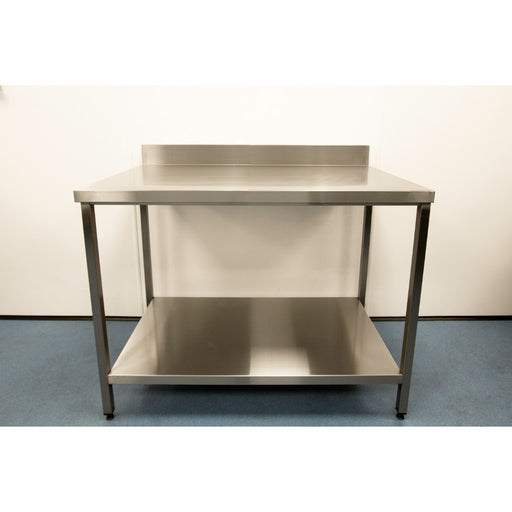 Stainless Steel Prep Table with Base Shelf