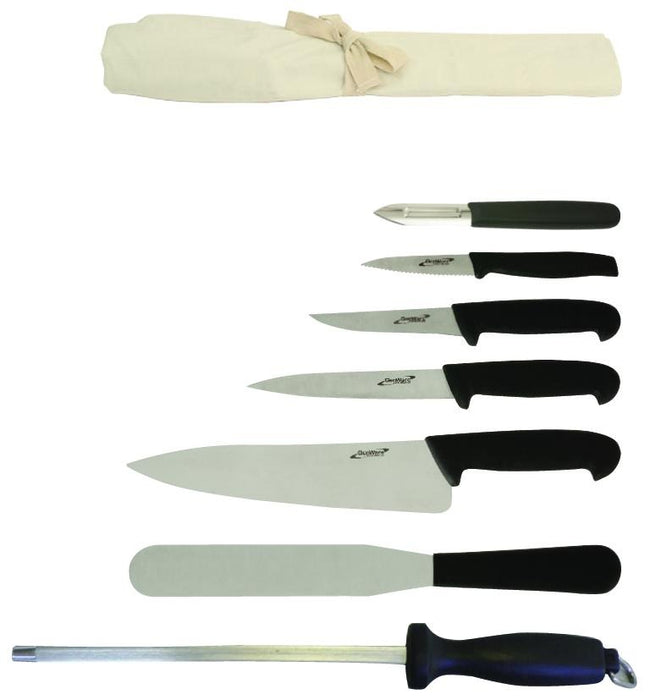 Professional Knife Set 7 - Gecko Catering Equipment