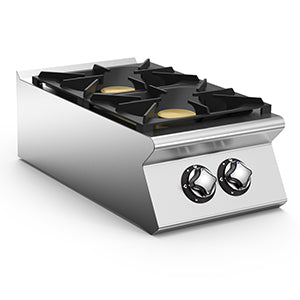 Mareno 2 Burner Gas Top Hob NC74G12