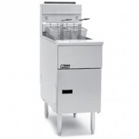 Pitco - Single Tank Electric Fryer SE14S-SSTC