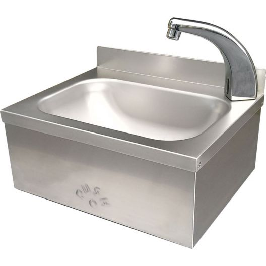 Classic Sensor Operated Stainless Steel Hand Basin