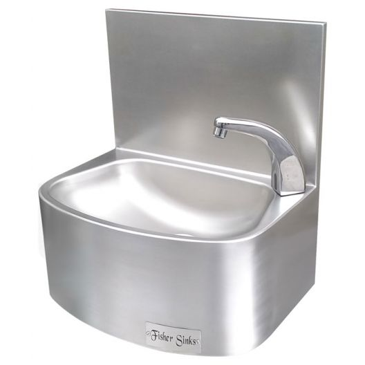 Classic Sensor Operated Stainless Steel Hand Basin - Heavy Duty