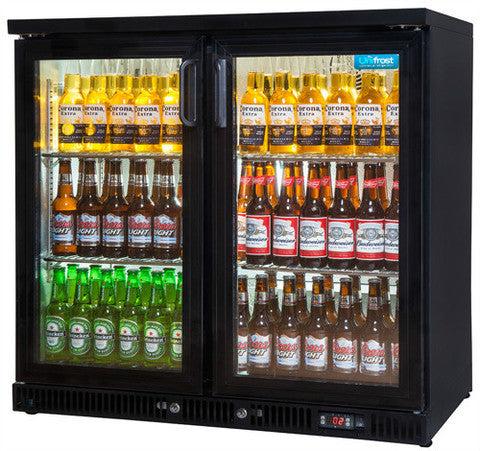 Two Door Bar Display Cooler
