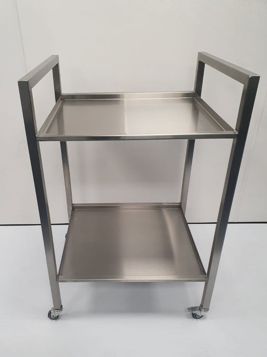Stainless Steel 2 Tier Dressing Trolley