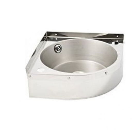 Classic Corner Stainless Steel Hand Basin