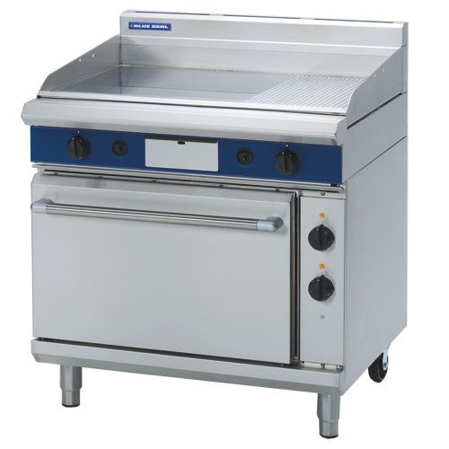 Blue Seal GPE506 900mm Gas Griddle Electric Oven
