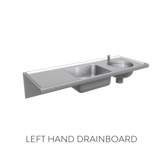 Classic Combined Sluice Sink [DU-HS] - Top Entry