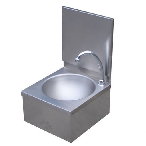 Classic Leg Operated Stainless Steel Hand Basin #3