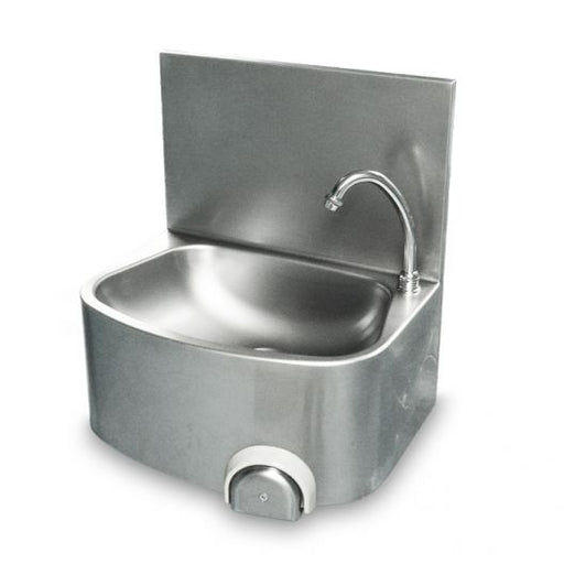 Classic Leg Operated Stainless Steel Hand Basin - Heavy Duty