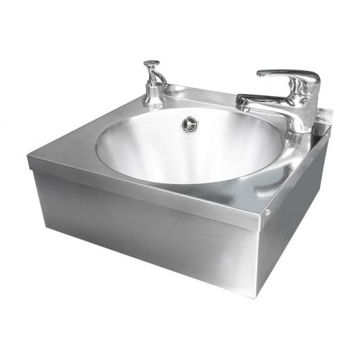 "Classic 12"" Wash Hand Basin with tap and soap dispenser"