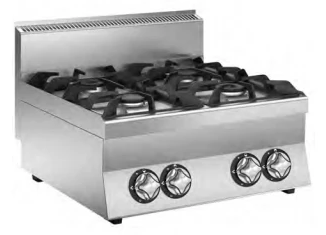 Mareno Boiling Top 4 Burner C67GP