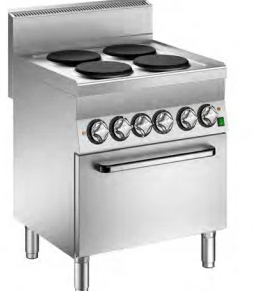 Mareno 4 Plate Cooker With Electric Fan Oven C6FEV7EP