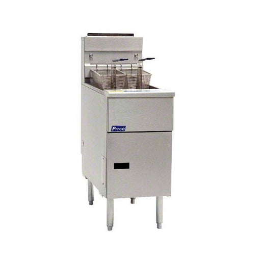 PITCO SG14TS Twin Tank Gas Fryer