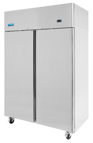 F1000SV Compact Two Door Fridge