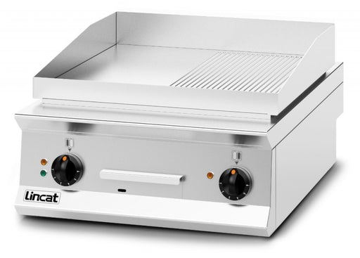 Opus 800 Electric Ribbed Plate Griddle