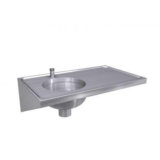 Classic Sluice Sink & Draining Board [DU-H] - Top Entry