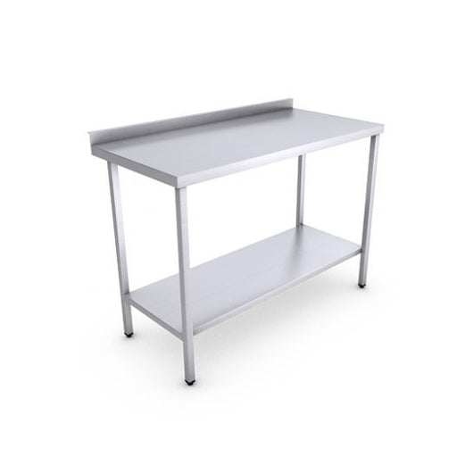 Classic Stainless Steel Catering Prep Table - 1200 x 600mm