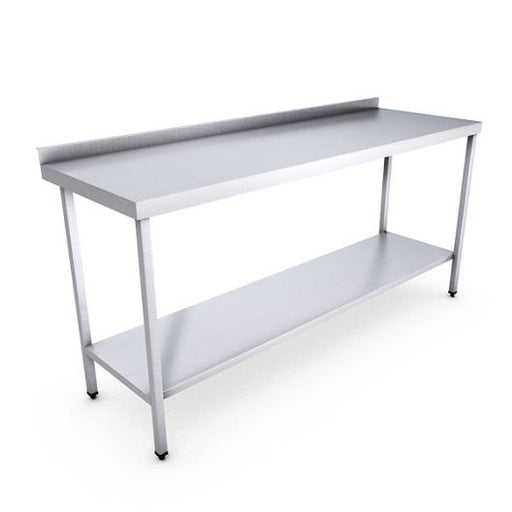 Classic Stainless Steel Catering Prep Table - 1800 x 600mm