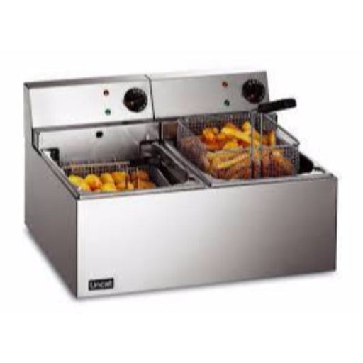 Lincat LDF2 Twin Tank Counter Top Fryer