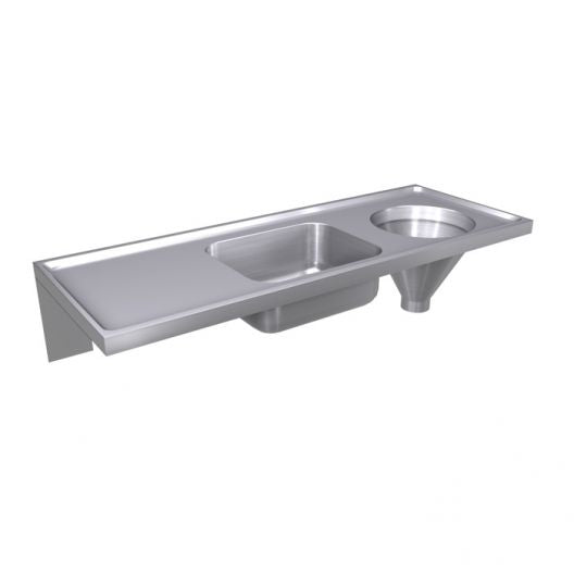 Classic Combined Sluice Sink [DU-HS] - Rear Entry