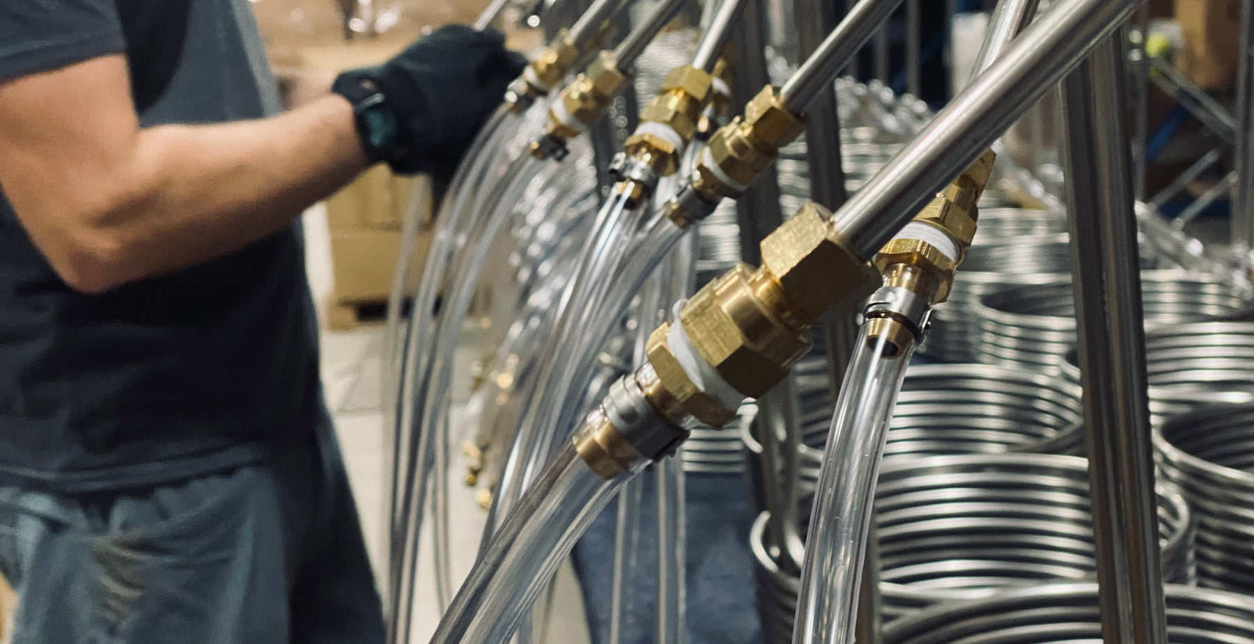 How to install compression fittings on your immersion chiller