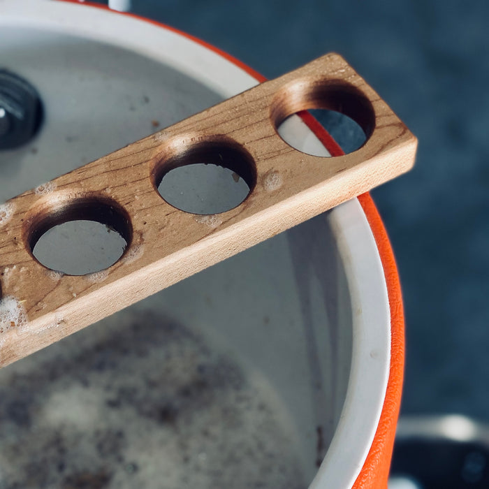 Caring for a Hard Maple Mash Paddle