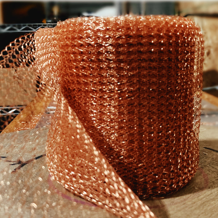 How to Clean Copper Mesh