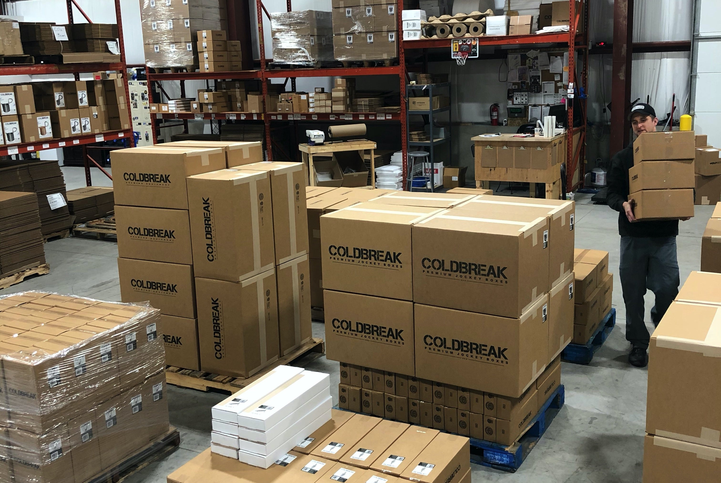coldbreak shipping department