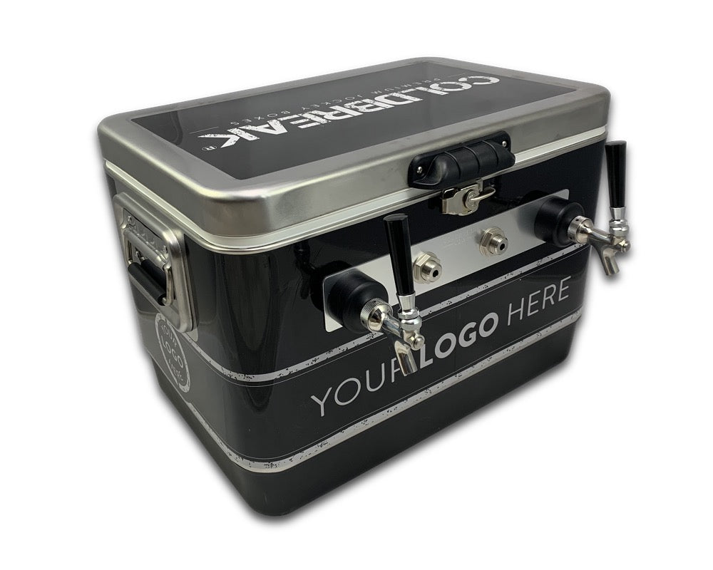 2 Tap Wrapped Jockey Box - Front Inputs