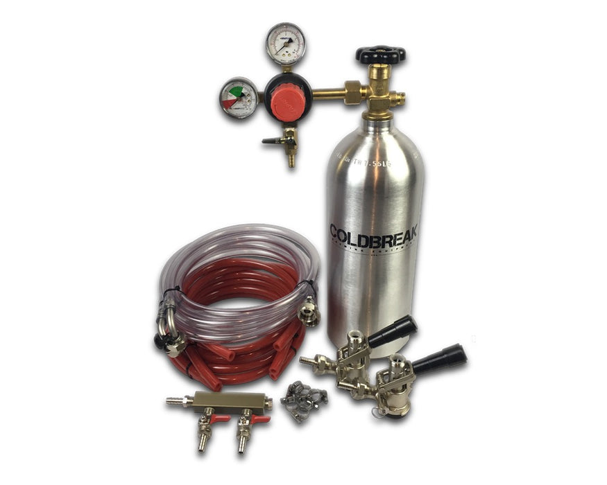 "Sankey ""D"" Dispensing Kit, 2 Taps, Commercial Kegs"