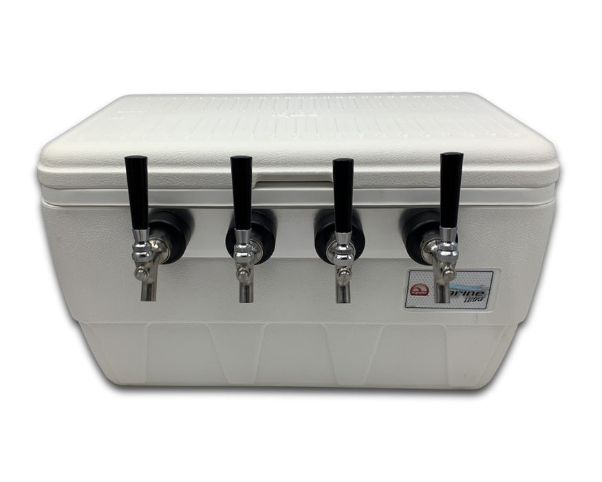 front of 4 tap jockey box