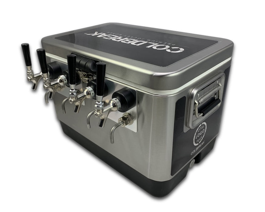 4 Tap Wrapped Jockey Box - Front Inputs