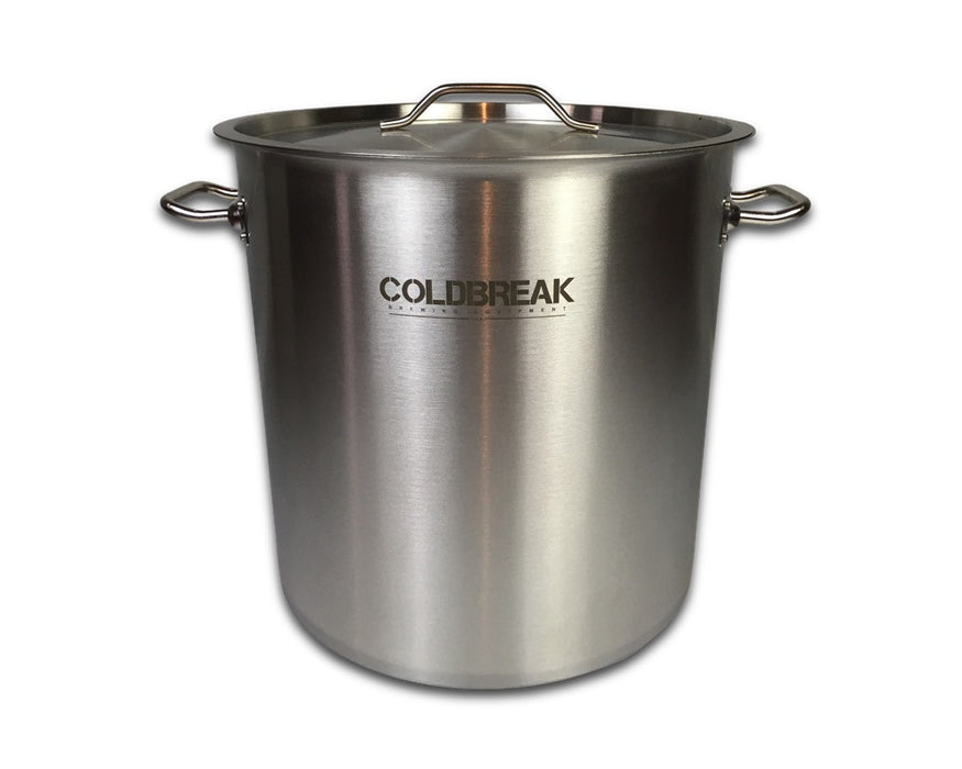stainless steel brewing pot