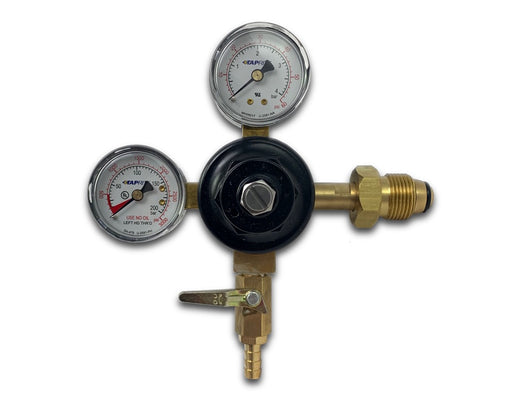 Nitrogen Regulator with Dual Gauges