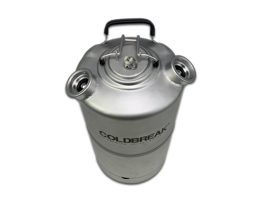 Jockey Box Cleaning Keg (Dual Head, 4 Gallons)