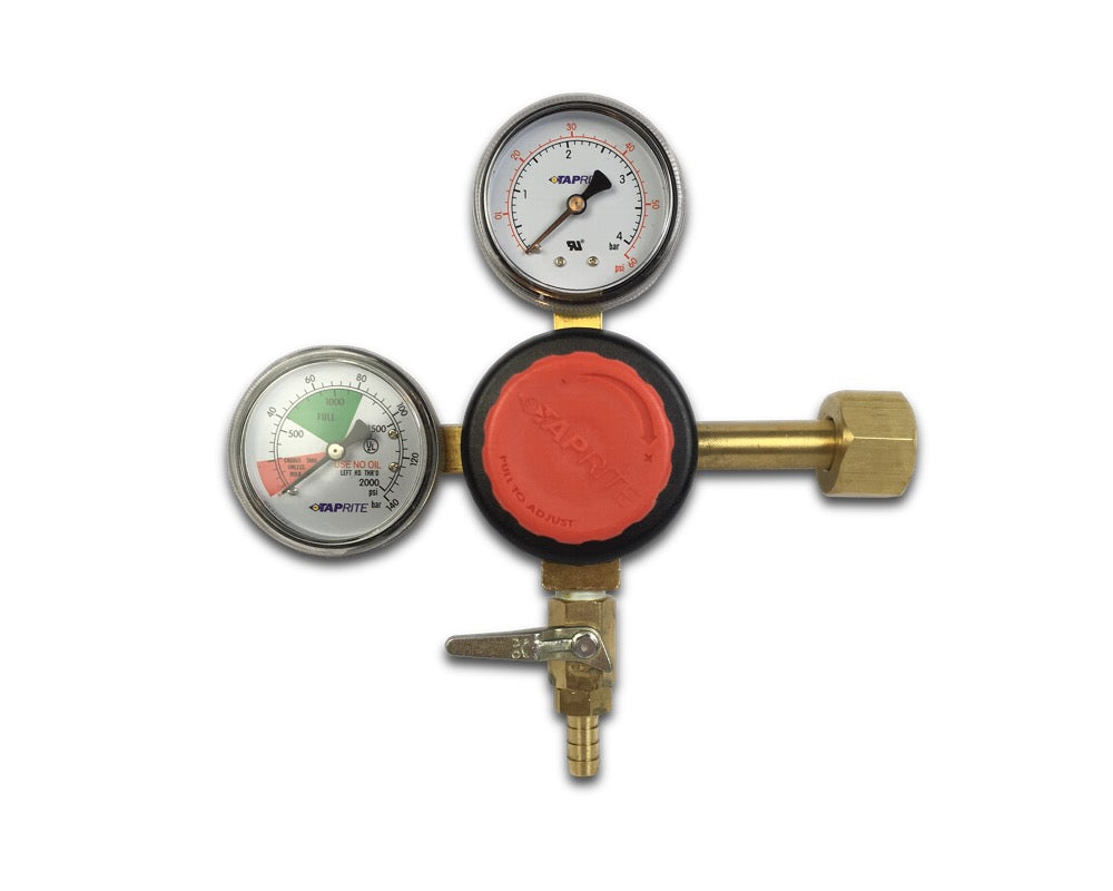 C02 Regulator with Dual Gauges