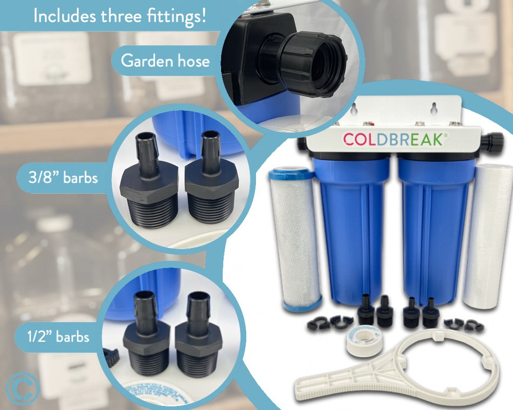 Water Filter Kit, Dual Stage
