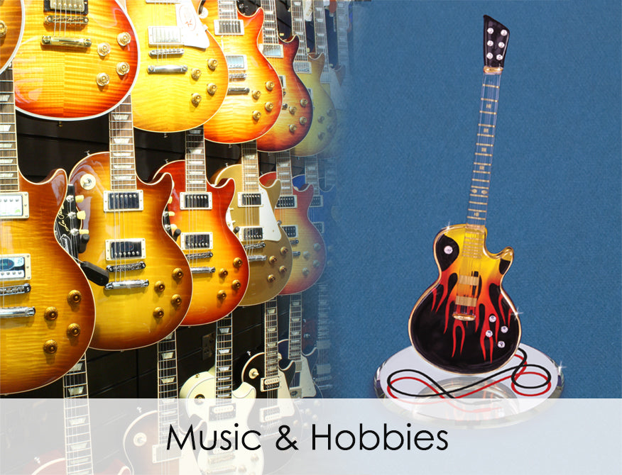 Shop handcrafted glass art for all music and hobbies