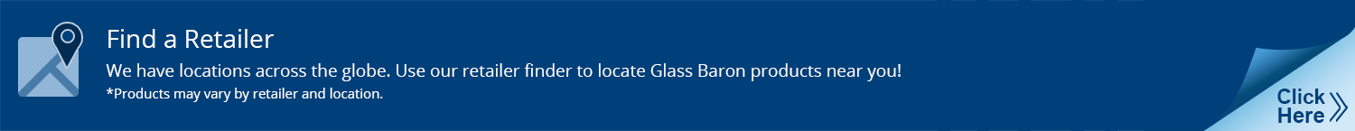 Find a Retailer to locate Glass Baron handcrafted glass art products near you