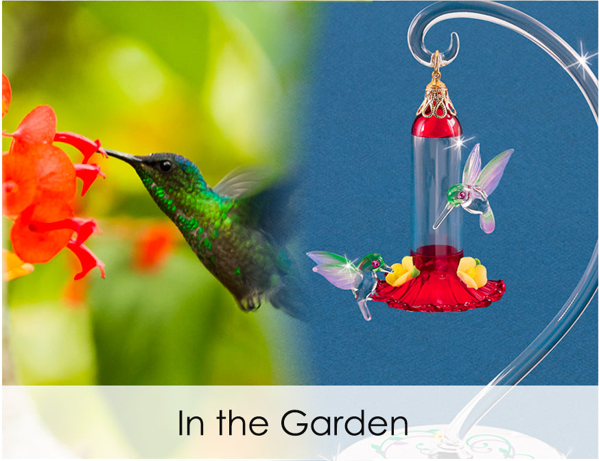 Shop handcrafted glass art for in the garden