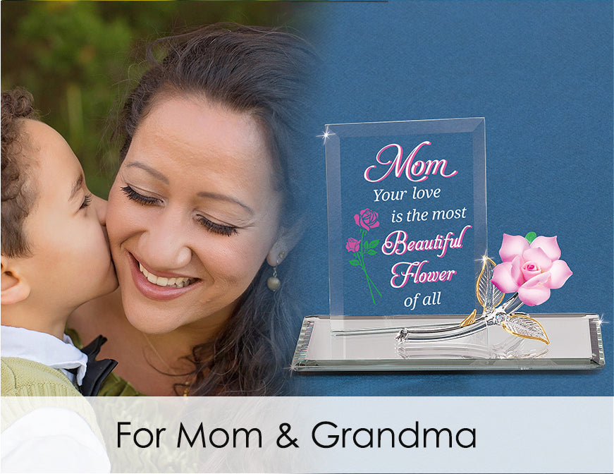 Shop handcrafted glass art for mom and grandma