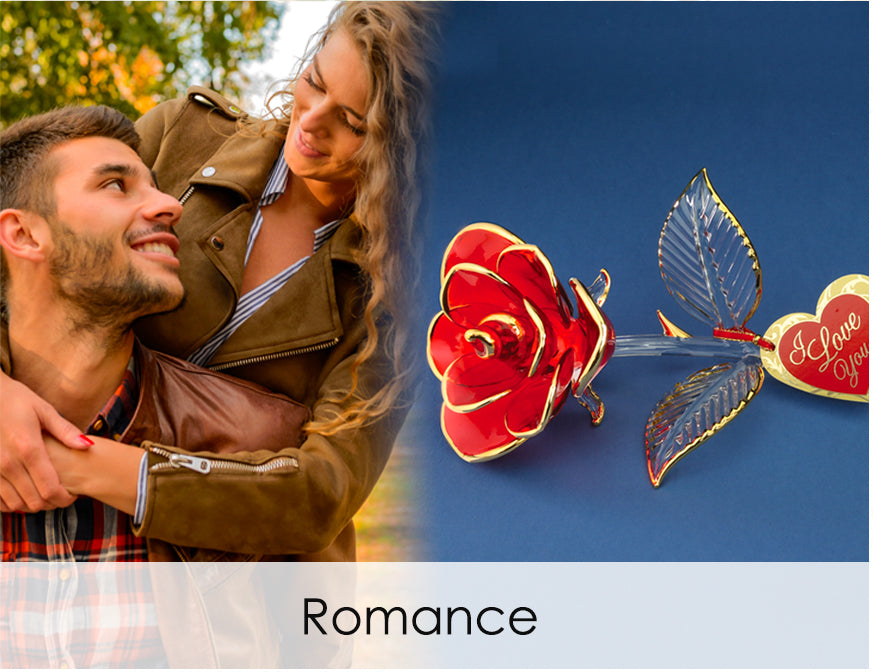 Shop handcrafted glass art for romance