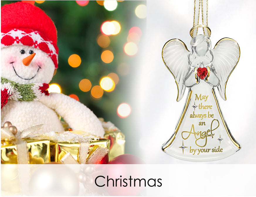 Shop handcrafted glass art for Christmas