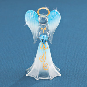 Blue Angel with Crystal