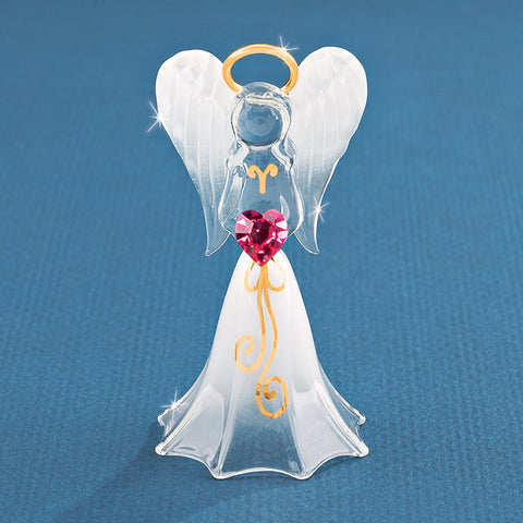 White Angel with Crystal